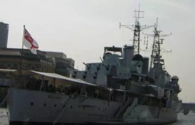 Křižník Belfast v Londýně