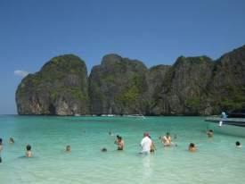 Cíl výletních lodí z Phi Phi