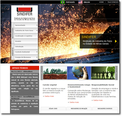 Site Institucional | Sindifer