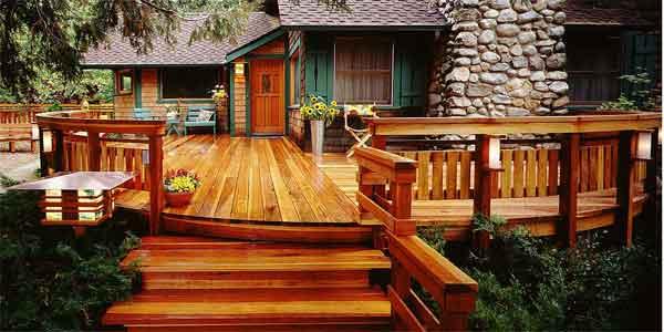 Deck de madera, construcción y diseño