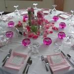 Decoración de mesas para fiestas, delicadeza y glamour