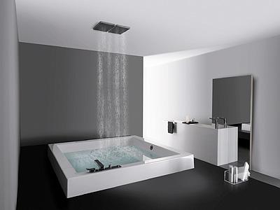 Baños minimalistas, serenidad y relax
