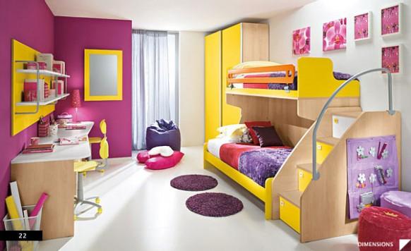 Habitaciones infantiles: diseño y decoración