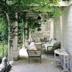 Paneles y biombos decorativos para jardín.