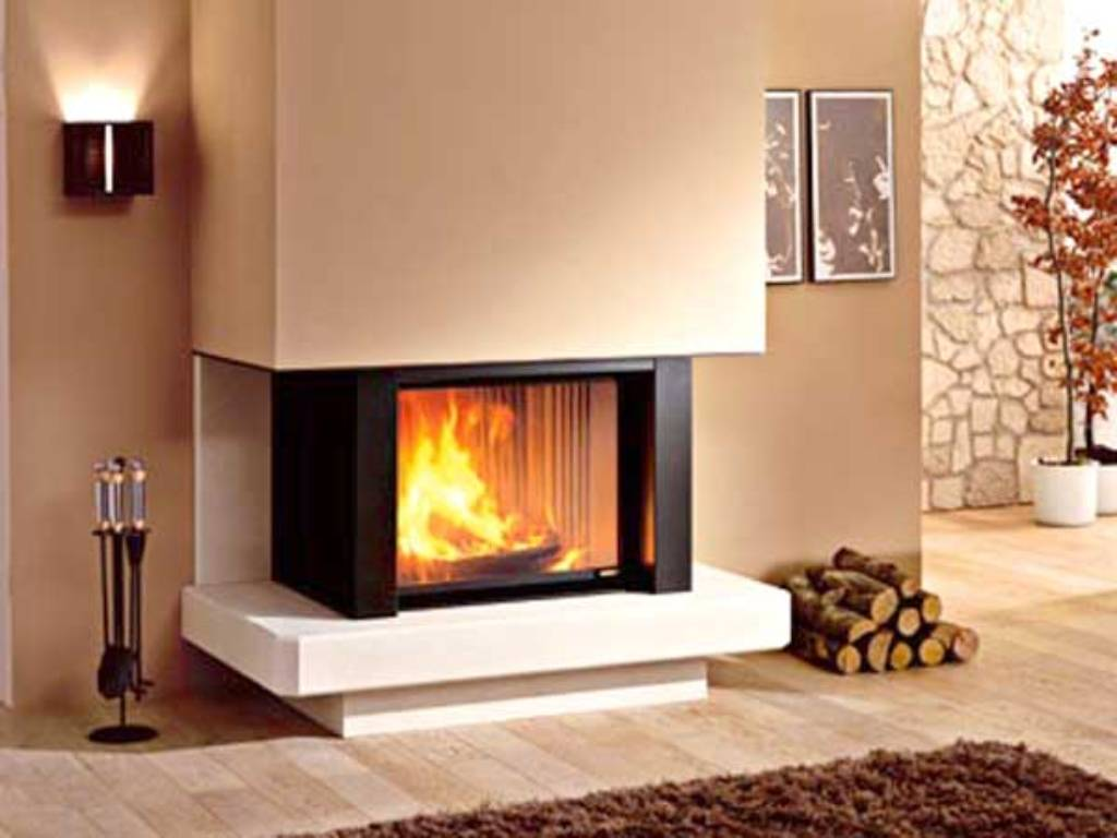 Chimeneas modernas decoracion beautiful chimenea moderna - Decoracion de chimeneas ...