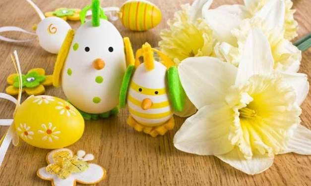Decora tus huevos de Pascuas. Tip de ideas.