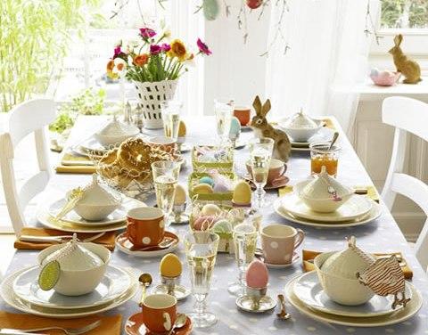 La mesa de Pascua. Ideas prácticas y originales.