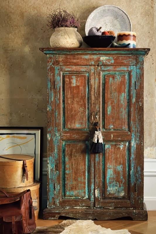Armarios Antiguos De Madera : Decoraci?n con muebles antiguos reciclados