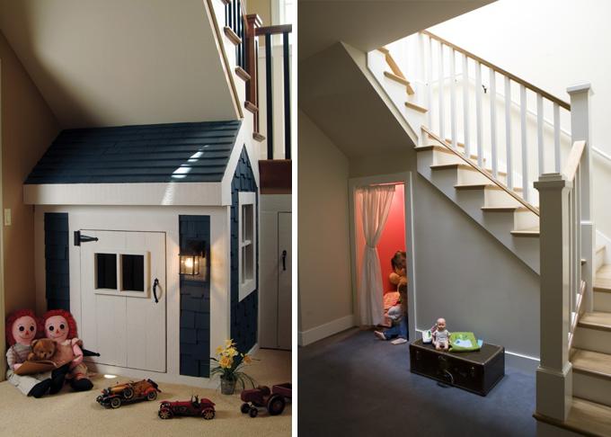 El hueco de la escalera ideas para su aprovechamiento for Huecos de escalera