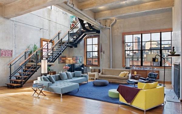 El loft – Del estilo fabril y bohemio al contemporáneo y elegante