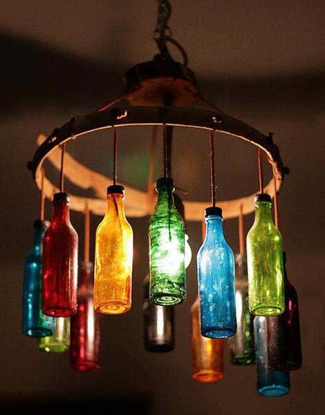 L mparas decorativas con vidrio reciclado - Lamparas de ambiente ...