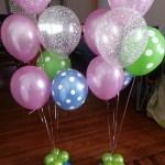 organizar un baby shower con globos
