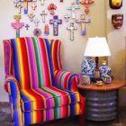 Sala de estar al estilo mexicano