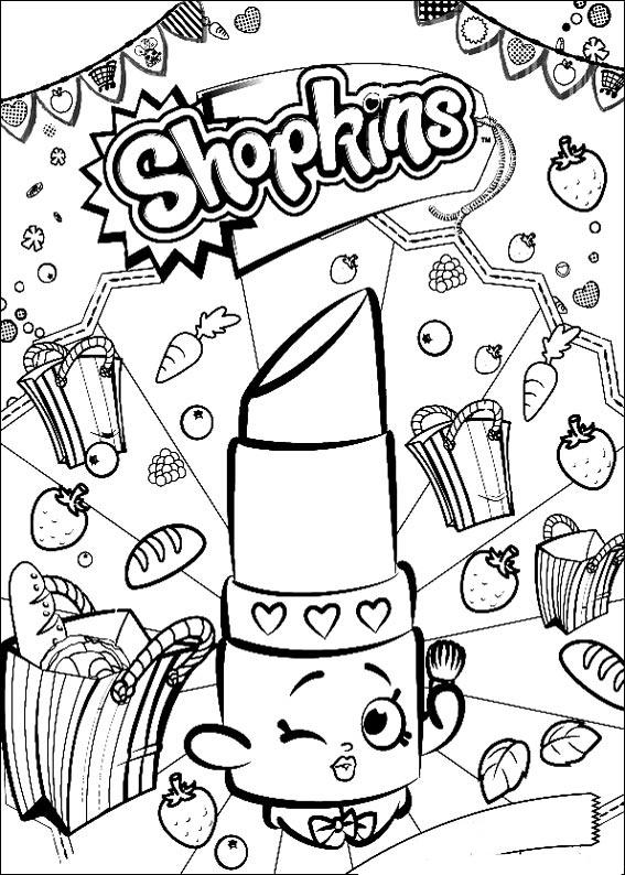 Imagenes De Shopkins Para Colorear E Imprimir