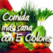 Alimentos con 5 Colores - Dieta de los 5 Colores