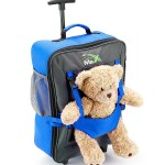 Kids Hand Luggage Blue Bear Bag
