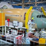 Finnair Airbus A350 XWB Assembly
