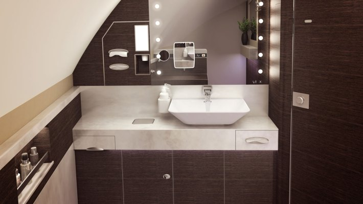 Singapore Airlines A380 Suite Bathroom