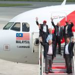 A320 Air Asia 100th Airbus aircraft delivery