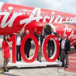 Air Asia 100th Airbus A320