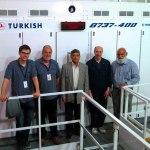 Cardiff Aviation Team move 737-400 flight sim from Istanbul to Karachi