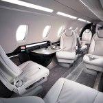 Cessna Citation Ten cabin seat layout