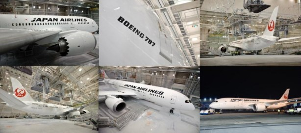 Japan Airlines Boeing 787 Aircraft