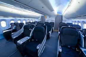Japan Airlines Boeing 787 Executive Class Cabin