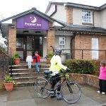 Leaving East Kilbride Premier Inn