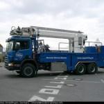Mast truck ground crew for Zeppelin