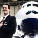 Movember takes off with British Airways Airbus A319 and cabin crew member Kyle Patchett