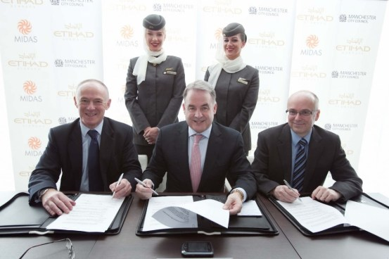 New Etihad contact centre to employ 160 in Manchester
