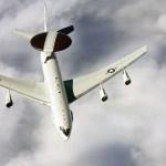 USAF Boeing 707 E3 AWACS