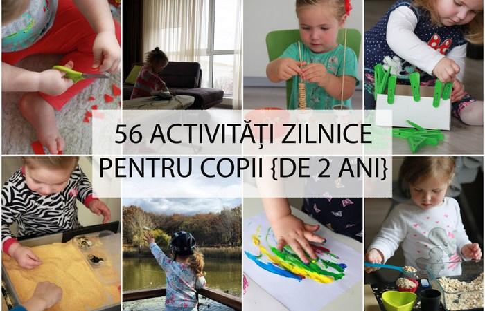 Activitati pentru copii 2-3 ani