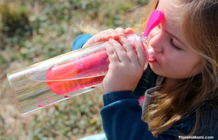 Copilul refuze sa bea apa