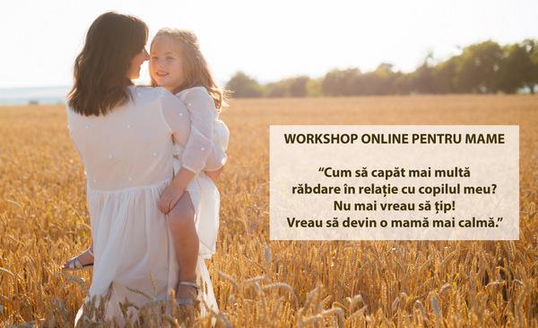 Atelier online pentru mame