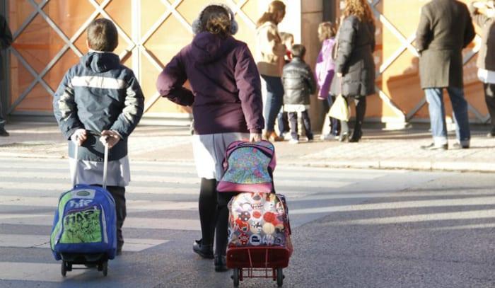 peso mochilas escolares