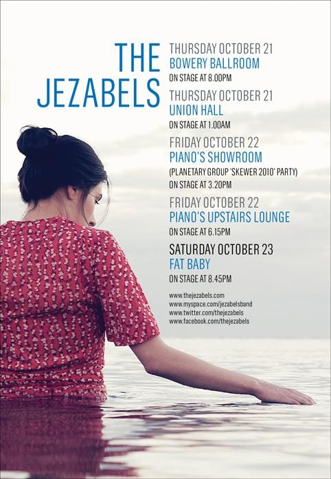 Jezables CMJ poster