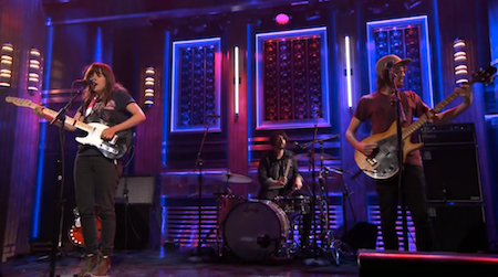Screen Shot 2014 04 25 at 3.04.07 PM - Courtney Barnett on The Tonight Show!