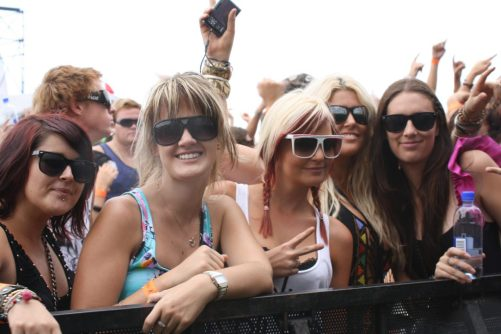 summer music concert festival crowd