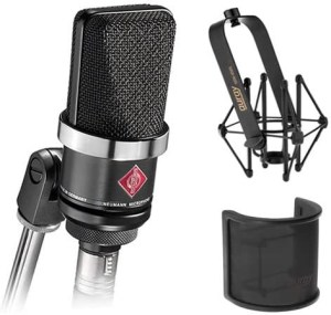 neumann 300x285 - Home Studio Vocal Microphone Guide
