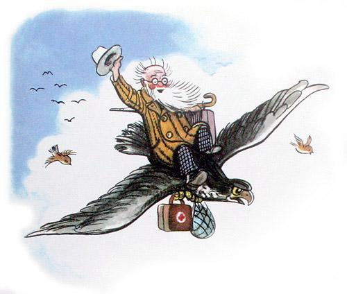 доктор Айболит летит на орле встреча