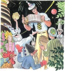 Дядя Стёпа маскарад праздник гармоншка