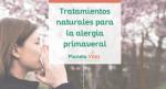 Tratamientos naturales para la alergia primaveral