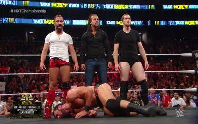 Adam Cole hizo su debut en NXT Takeover Brooklyn III