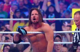 Aj Styles retiene el campeonato de WWE en Wrestlemania 34