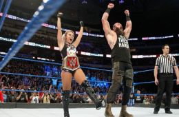 Alexa Bliss y Braun Strowman