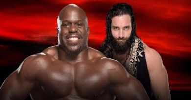 Apollo Crews vs Elias combate del kickoff de No Mercy