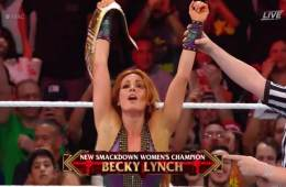 Becky Lynch es la nueva Smackdown Women's Champion