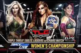 Becky Lynch se enfrentará a Charlotte Flair y Asuka en un TLC match en WWE TLC